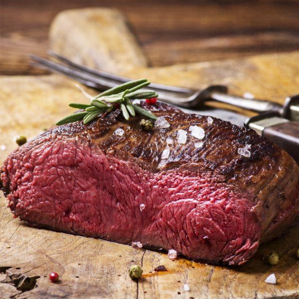 Wild Venison Haunch Steaks