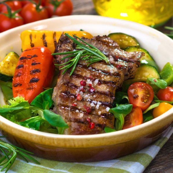 Ayrhsire Rose Veal Rump Steak