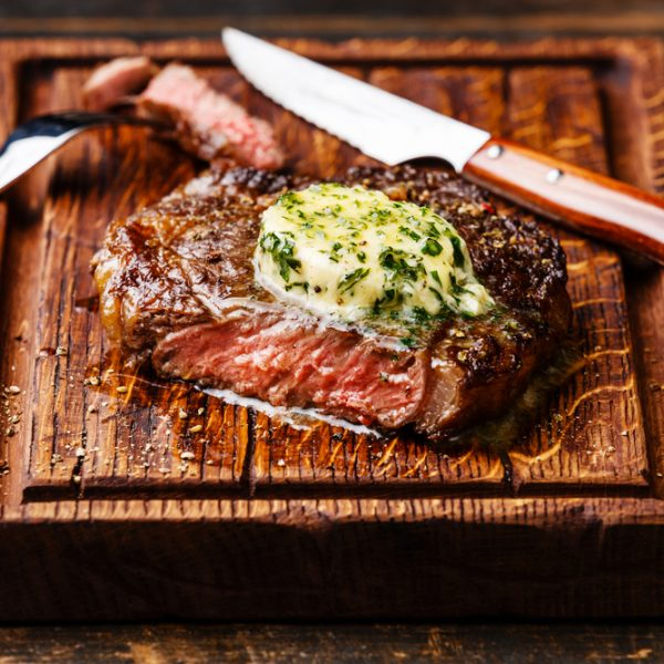 Galloway Beef Rib Eye Steak