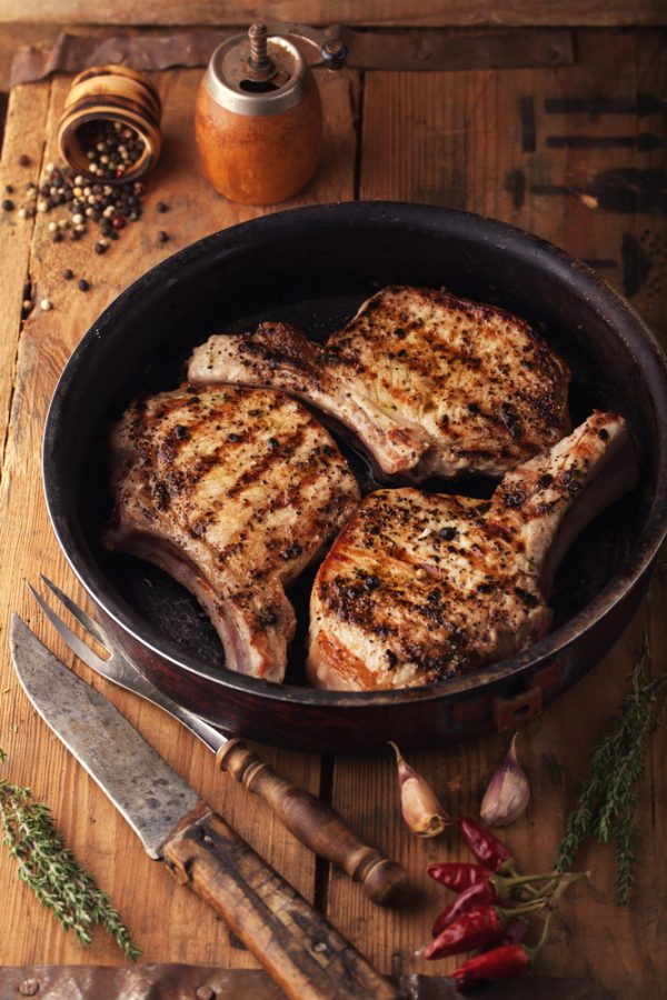 Outdoor Reared Pork Chops