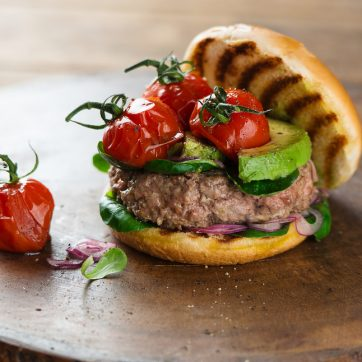 wild venison burgers
