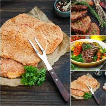 Veal escalope & Steak Box