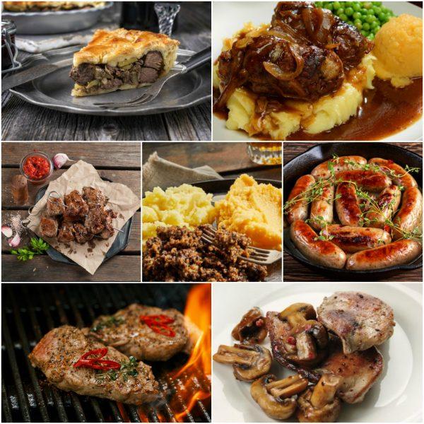 seasonal meats selection box
