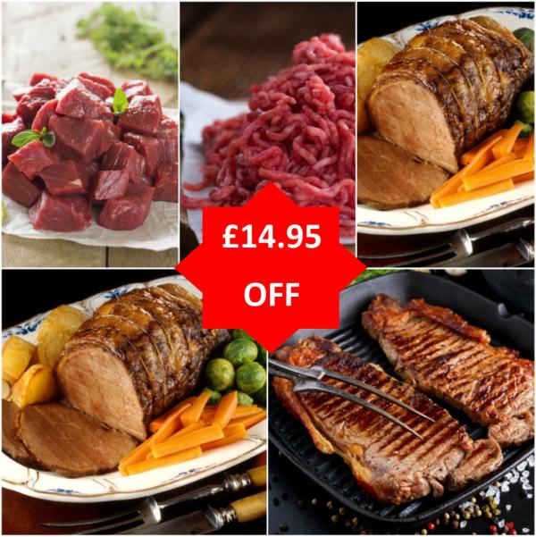 great taste Galloway beef box sale