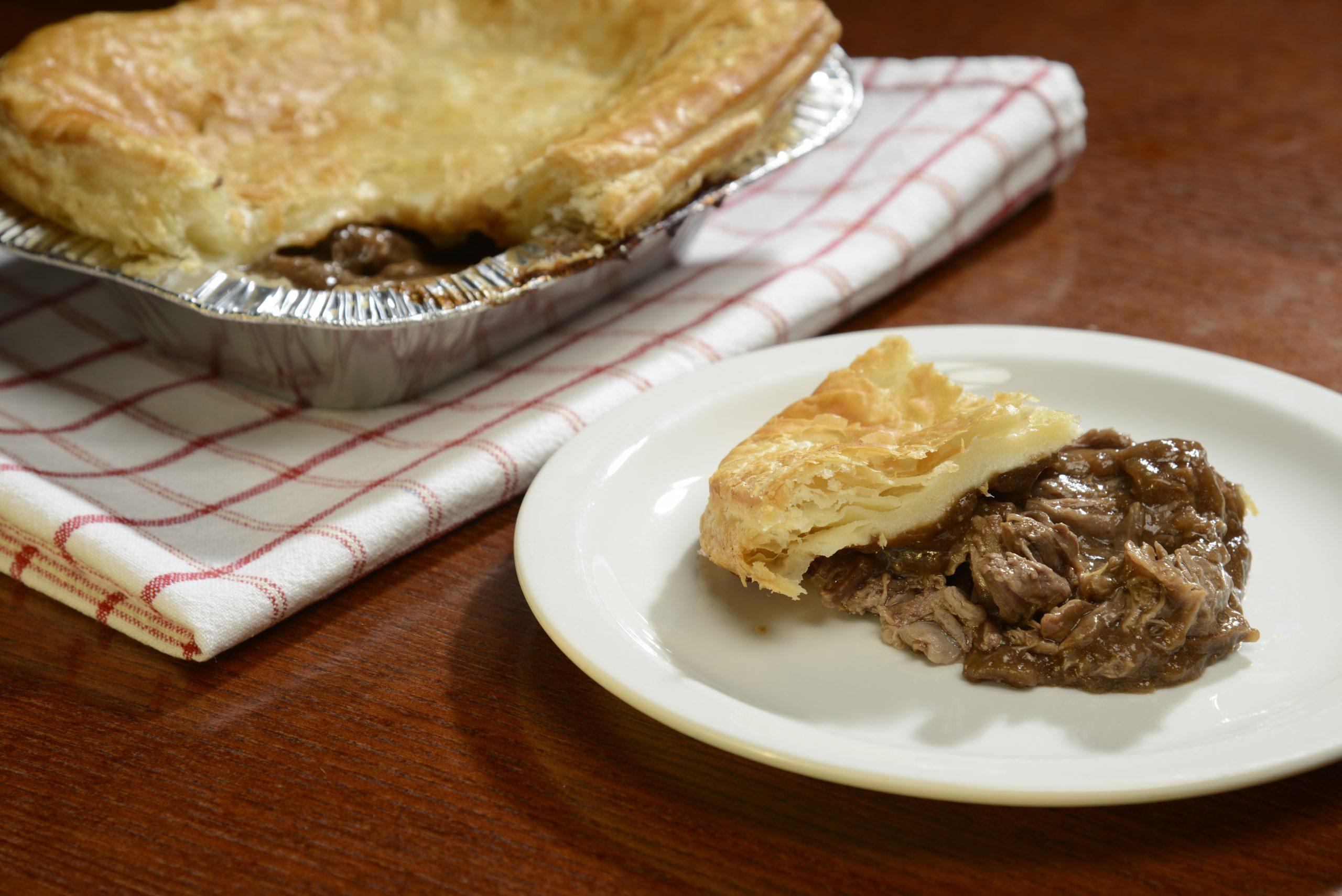 Large Steak Pie | Buy Online | The Blackface Meat Company